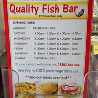 Opening hours really good food enjoyed it thanks 😁