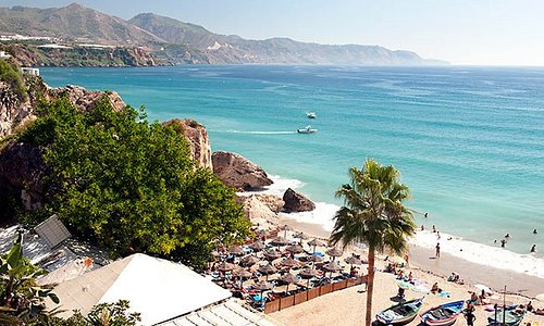 The #costadelsol is a region in the south of #spain , in the autonomous community of #andalusia , comprising the coastal towns and communities along the coastline of the #province of #malaga . The Costa Del Sol is situated between two lesser known coastal regions, the #costadelaluz and the #costatropical