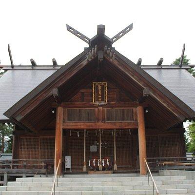 富良野神社拝殿