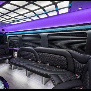 White Party Bus