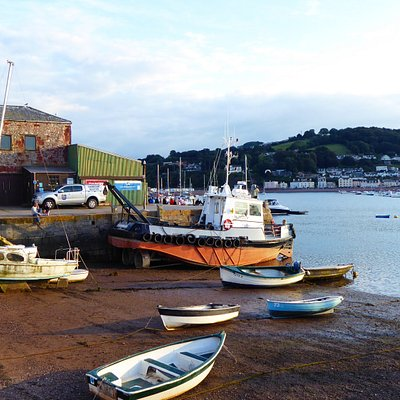 Teignmouth Back Beach; great sunsets here
