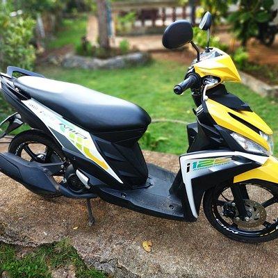 Yamaha Mio 125i Daily 450 pesos. Weekly 2000 pesos. Monthly 5500
