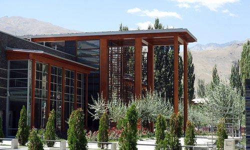 Ismaili Centre main entrance