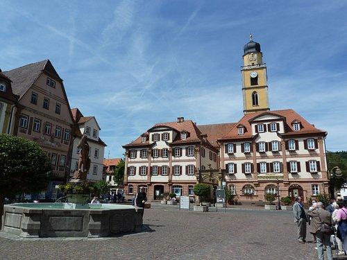 Markt i Bad Mergentheim