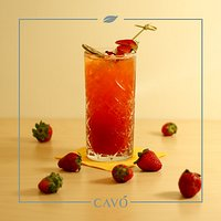I nostri mocktail analcolici di frutta fresca - Strawberry Collins: Fragola, soda, lime, zucchero di canna