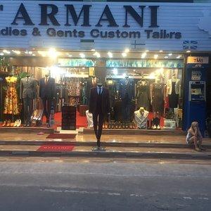 SAMUI ARMANI SUITS STORE