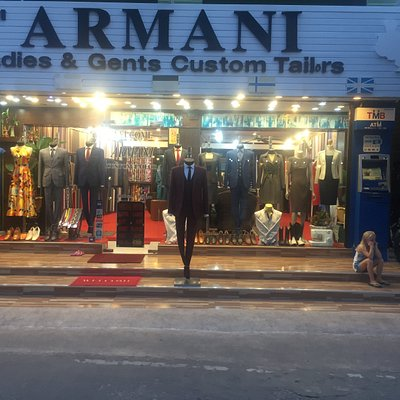 SAMUI ARMANI SUITS STORE