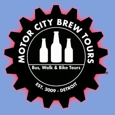 Motor City Brew Tours Logo Wide