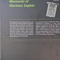 Denkmal Sophie von Hannover in Heerenhausen Gardens