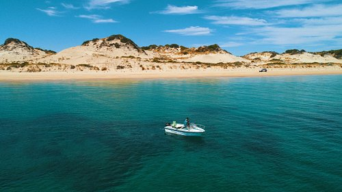 Enjoy throwing a line in at Myalup Beach or take the boat for a spin.