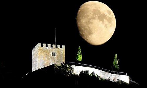 Castelo de Lamego à noite