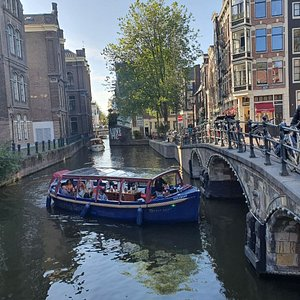 The Holy Boat cruising in the Red Light District