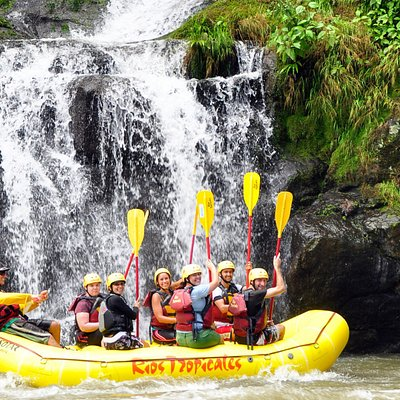 Warm water, cascading waterfalls, and lush rainforest with its brilliantly colored plants, animals and birds make this trip exquisite for your senses. Add in two sections of exciting Class III-IV whitewater rapids, and you have a tropical adventure packed with rich experiences that you'll remember forever.