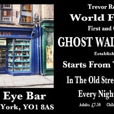 The Evil Eye Bar is the home of Trevor Rooney's Ghost walk