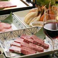 料理・ドリンク:接待や会食に最適なコースプランを複数ご用意。絶品肉に舌鼓を打ってはいかがでしょうか。