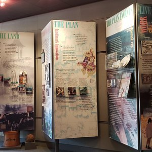Reston Museum exhibit