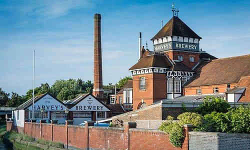 Harvey's Brewery, Lewes.