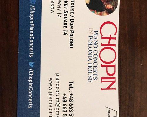Pianocorum - Chopin Piano Concerts