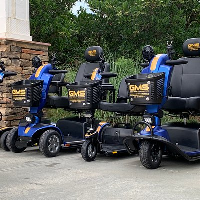 Scooter Rentals by Gold Mobility Scooters. Experience the newest and nicest mobility scooter rental fleet servicing all the Orlando area theme parks, resorts , hotels, and timeshares. Free accessories, lots of Free upgrades. All prices are a flat rate that includes insurance and delivery. All mobility scooter rentals we provide are 100% approved to be used in all Orlando Florida area theme parks. Book your mobility scooter rental today at goldmobilityscooters.com