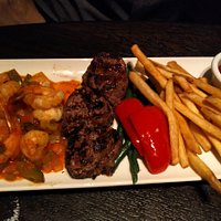 steak and shripms