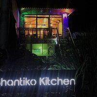 Shantiko Kitchen at night