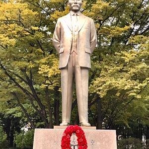 Dosan's Statue