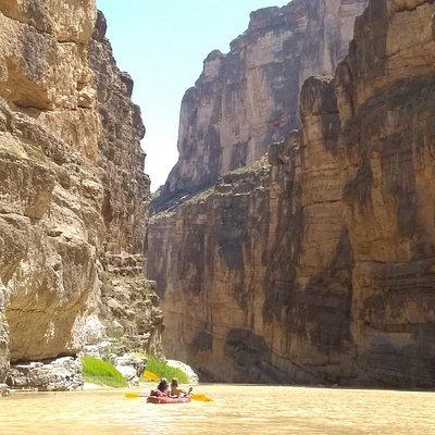 Kayaking in Santa Elena Canyon