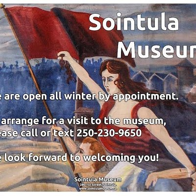 Sointula Museum — winter hours.