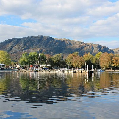 Coniston Boating Centre, on the shores of beautiful Coniston Water.