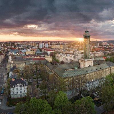 Vyhlídková věž Nové radnice, New City Hall Viewing Tower, Ostrava (Photo Boris Renner)