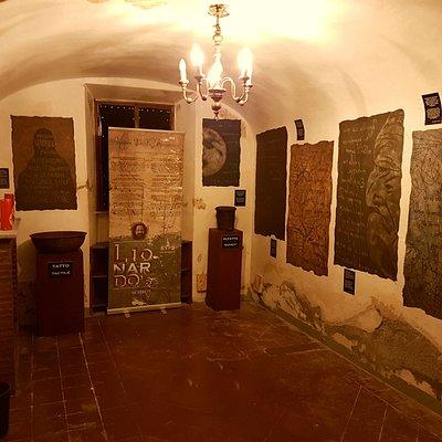 Lionardo's Senses room...
