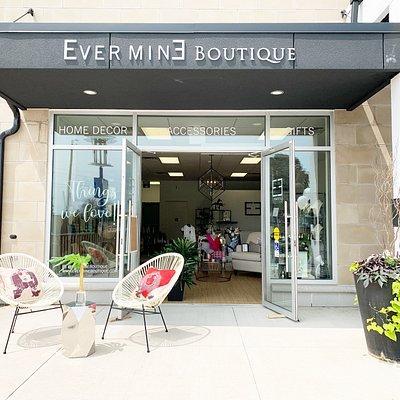 Exterior of Ever Mine Boutique