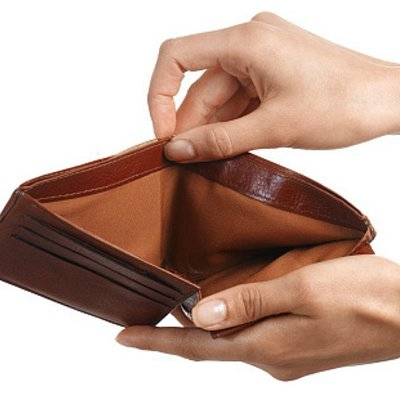 "This is what my wallet looks like EVERY TIME I leave Lakeside Entertainment Casino. This is NOT a joke, the literally ""STEAL"" all my money!"
