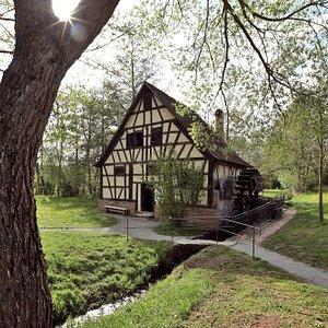 Ölschlagmühle aus Wiesthal (Spessart)