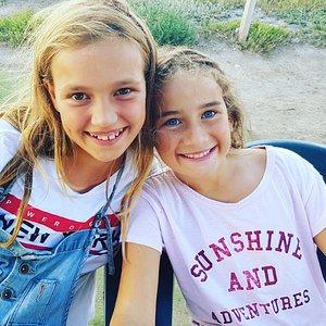 Happy kids after kitesurfing #kitesurf sizilien
