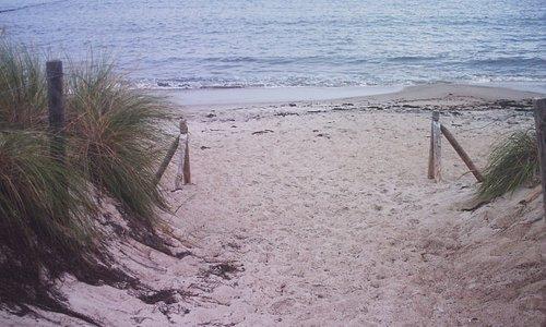 Weg zum Strand...