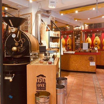 Leckerer Kaffee  Nette kleine Sitzgelegenheiten Sehr nette Bedienung