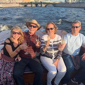 Our guests had a boat ride!