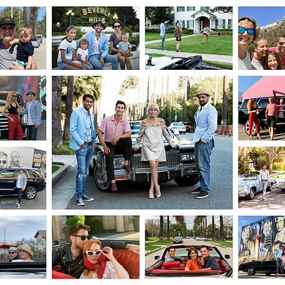 Photo Collage of Classic Experiences Los Angeles