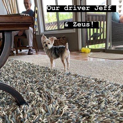 Jeff and Zeus!
