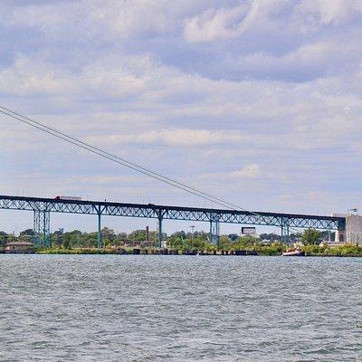 Spanning the Detroit River