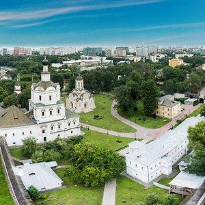 Спасо-Андроников монастырь. Вид сверху