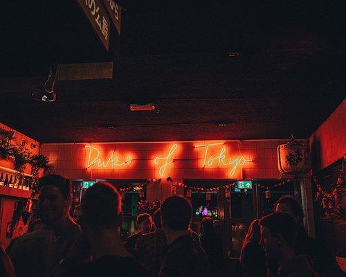The main bar area dance floor