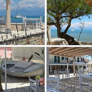 The Boathouse Bar and Cocktail Place Roda Corfu
