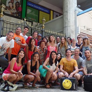 Learn Portuguese in Rio de Janeiro with Rio & Learn and you'll be at the most famous beach in the world, Copacabana!
