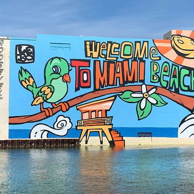 Welcome to Miami Beach Mural