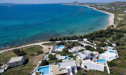 Villa Paradise Boutique Hotel  in Naxos Plaka beach Orkos bay