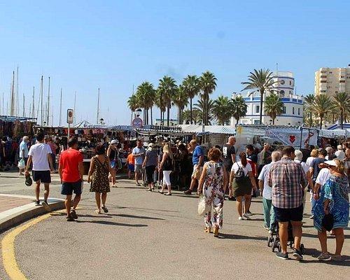 Sunday Market in the Marina
