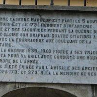 Il a été aussi la caserne « Marbeuf » dans laquelle a été exécuté le résistant Jean Nicoli. A ce jour, c'est le lycée Jean Nicoli depuis 1951