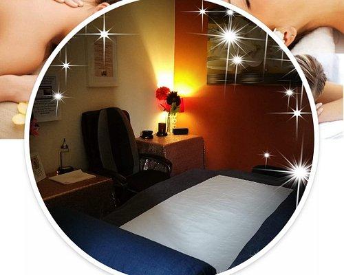 My massage room.